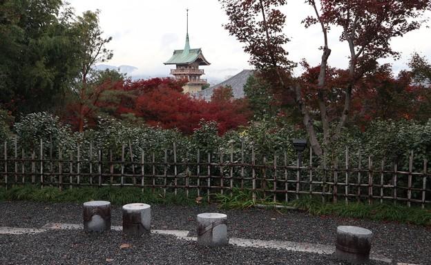 高台寺より祇園閣