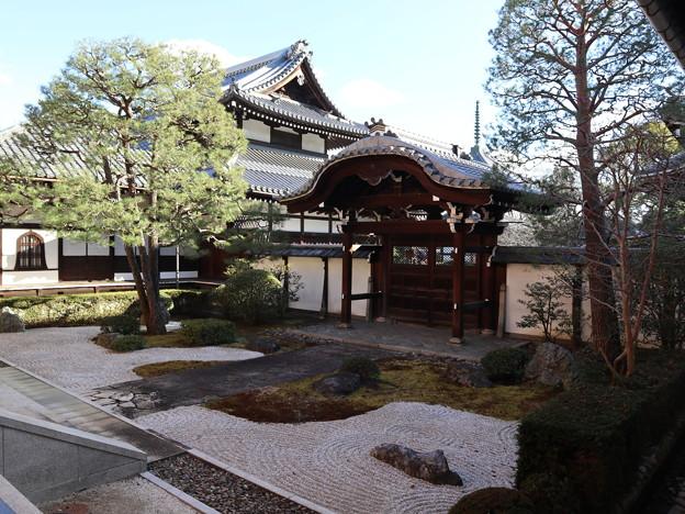 本法寺・十(つなし)の庭