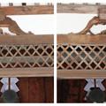 Photos: 蟇股(かえるまた)比較