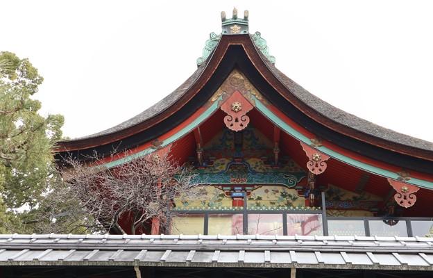 御香宮神社・本殿(西妻)