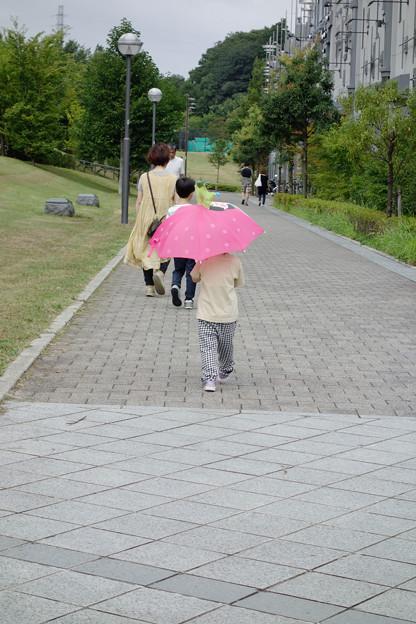 雨、降るかな