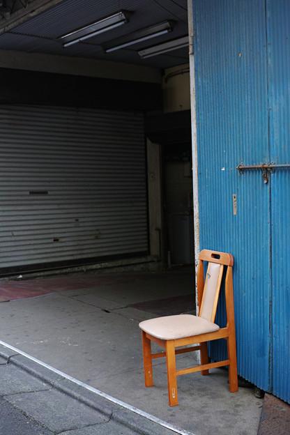 Photos: 角の椅子