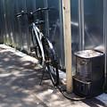 Photos: ストーブと自転車