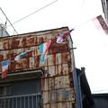 Photos: 錆と万国旗