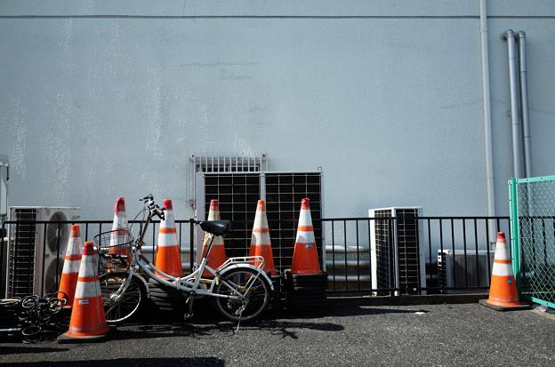 自転車を守る