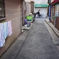 Photos: 路地のタオル