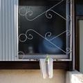 窓のタオル