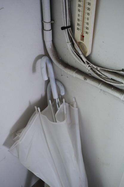 傘と温度計