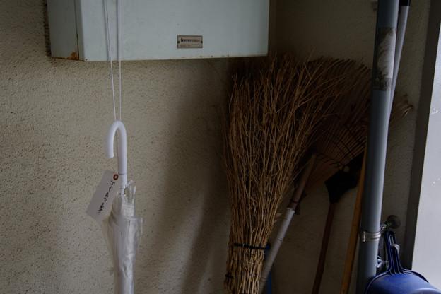 ゴミ出し傘