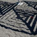 Photos: 砂場の影
