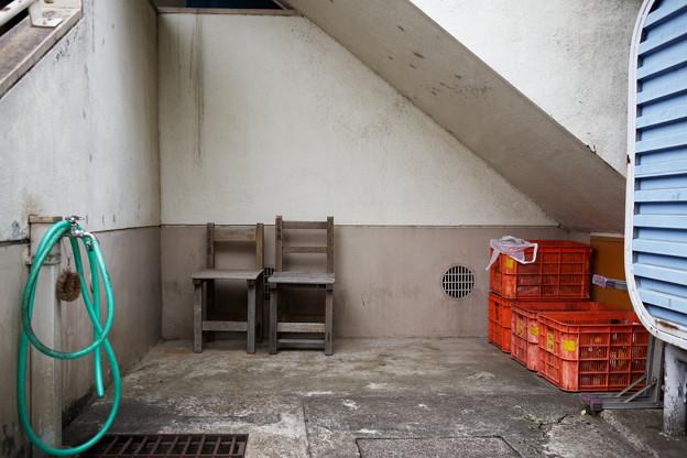 3号棟の椅子