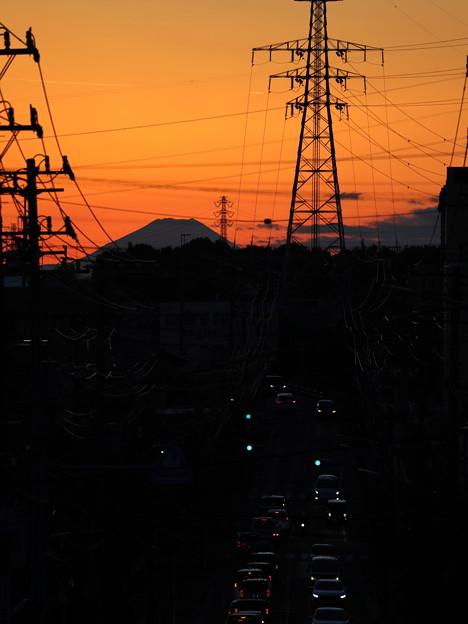 富士山遠望