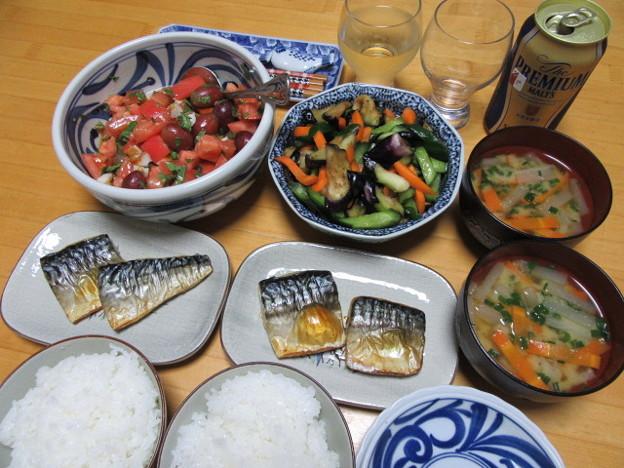19日の晩御飯
