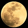 写真: 皆既月食:2 皆既月食始まる(半影食)