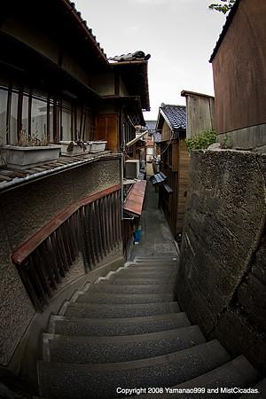 金沢市主計町の風景