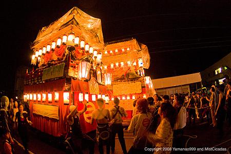 飯田燈籠山祭り2008 その1