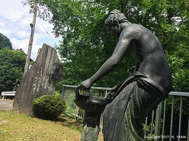 宮島峡ヴィーナス像巡り1 紺碧の像