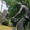 写真: 宮島峡ヴィーナス像巡り1 紺碧の像