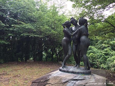宮島峡ヴィーナス像巡り10 山渓の像