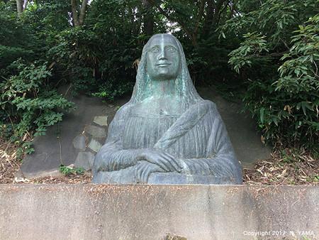 宮島峡ヴィーナス像巡り11 聖眸の像