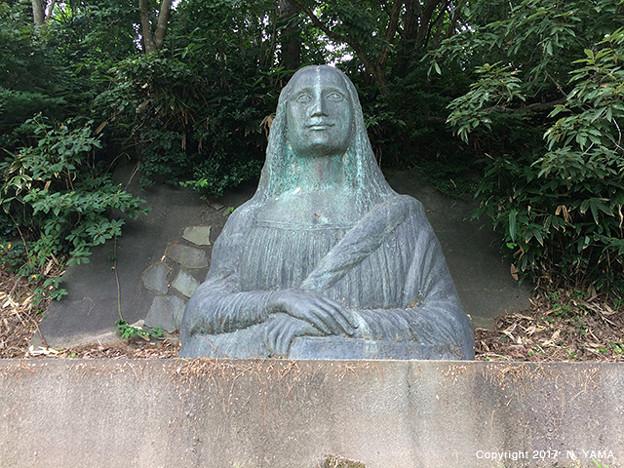 写真: 宮島峡ヴィーナス像巡り11 聖眸の像