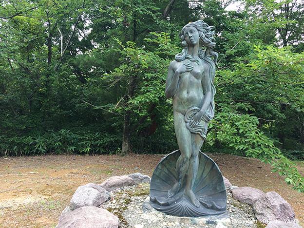 宮島峡ヴィーナス像巡り12 生誕の像