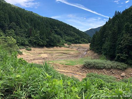 2018年8月15日、手取湖風景