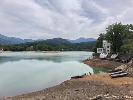 2018年8月19日、桜ヶ池風景
