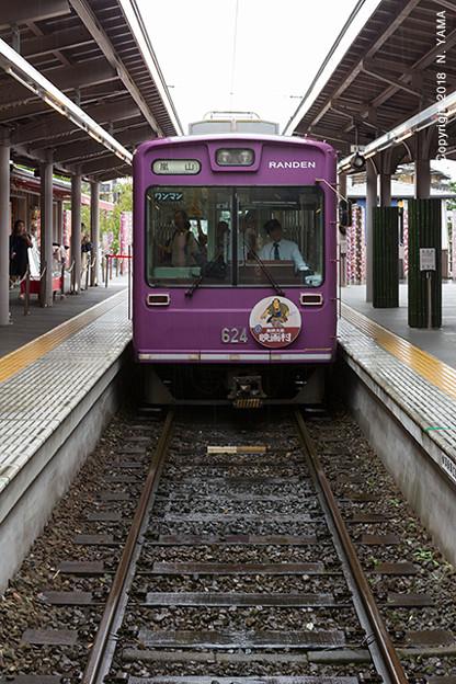 京福電気鉄道 モボ621形(624号車)