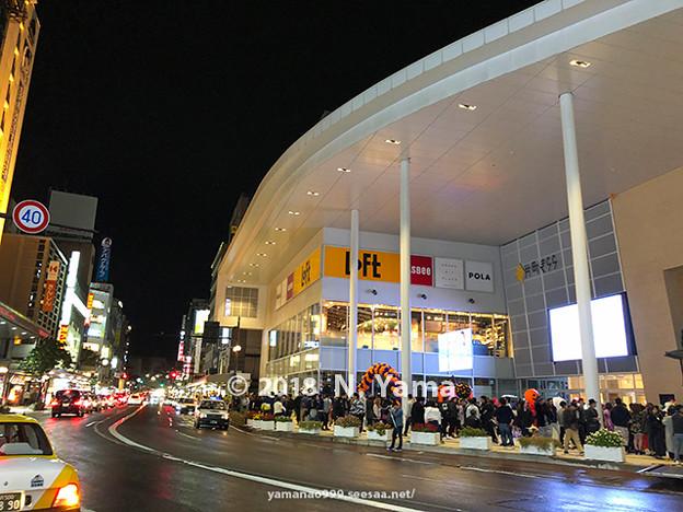 2018年10月27日、金沢市片町
