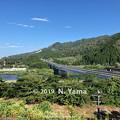 Photos: 阿賀野川SA下り線眺望