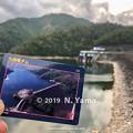Photos: 2019年9月29日、九頭竜ダムとダムカード