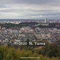 2020年1月2日、金沢市一望