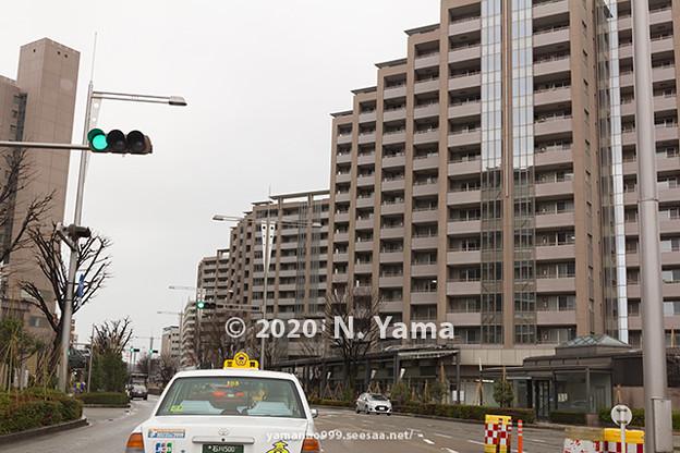 2020年1月2日、金沢駅前風景