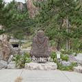 Photos: 2020年10月11日、麒山和尚の石仏