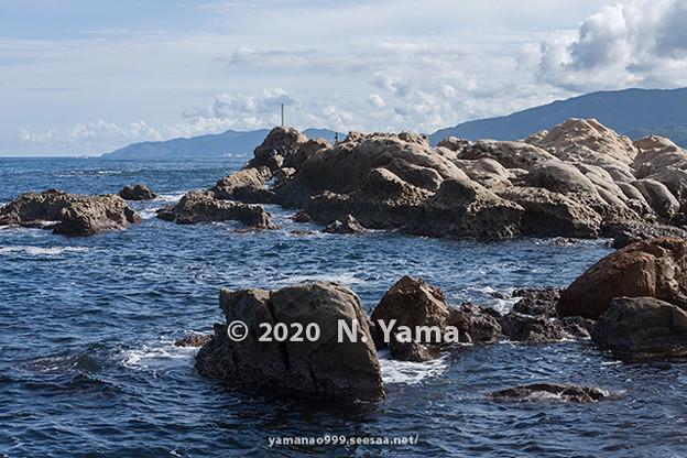 2020年10月11日、鴨ヶ浦風景