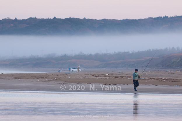 2020年11月16日、一之宮海岸風景
