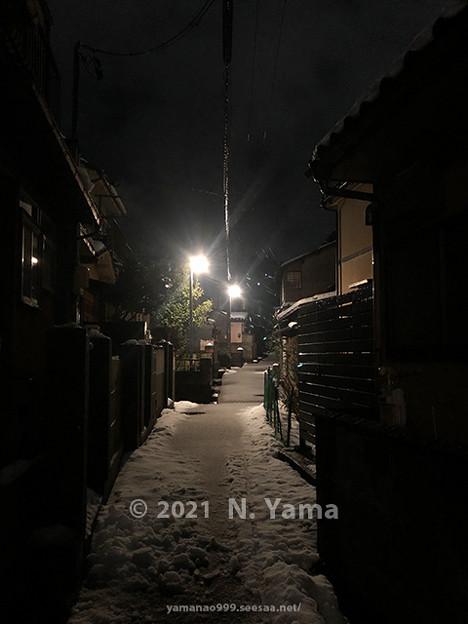 2021年1月1日、金沢市東山風景