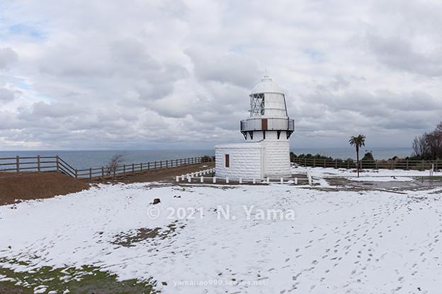 2021年1月3日、禄剛崎灯台