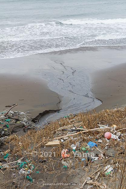 2021年2月21日、大川浜風景