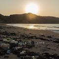Photos: 2021年2月21日、袖ヶ浜海水浴場