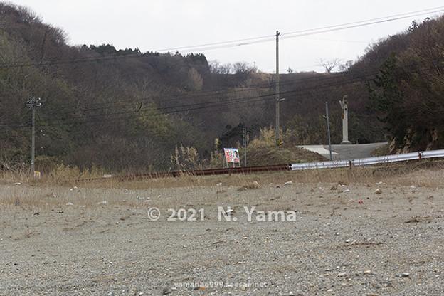 Photos: 2021年2月21日、大川浜風景