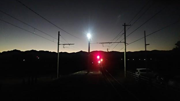 2019/11/09早朝の駅
