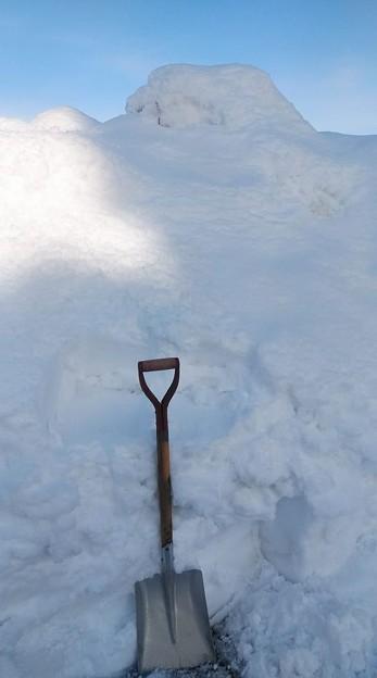 2021/01/11雪の壁