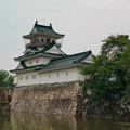 Photos: 曇り空の城