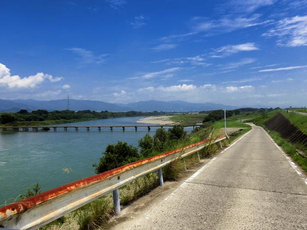 善入寺島の沈下橋