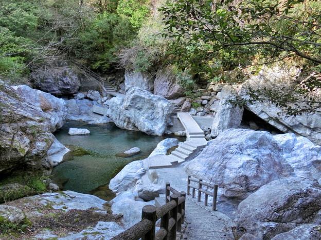Photos: 中津渓谷遊歩道