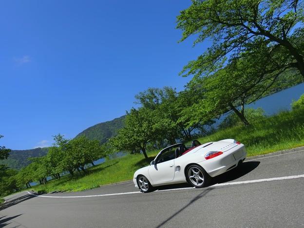 余呉湖ドライブ