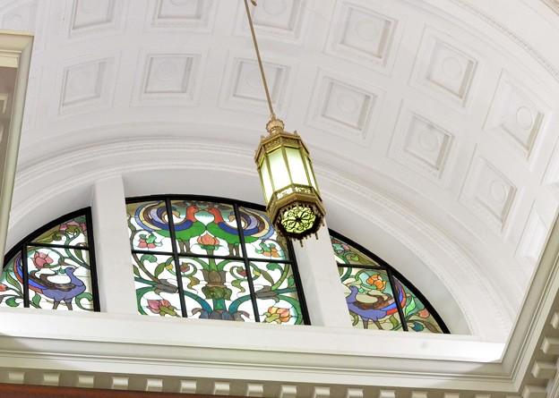 国立科学博物館のステンドグラス