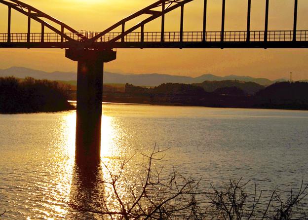 水道橋の夕焼け